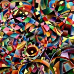 Mechanism#1--oil on canvas 120x100cm.-2004 original