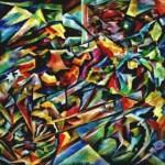 --Phaeton--oil on canvas70x70cm.-2005. original