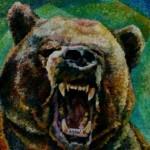 composition--Bear--oil on canvas 100x80cm.-2005