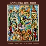 composition--London--oil on canvas120x100cm.-2003. Original